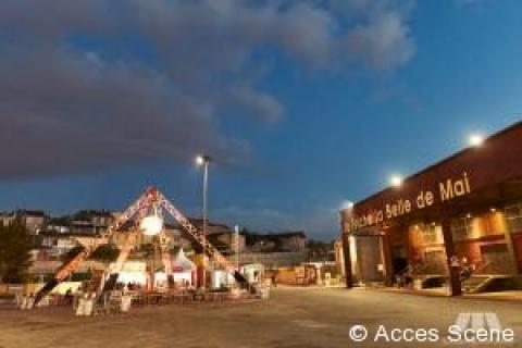 Structures scéniques festival Marsatac - Marseille